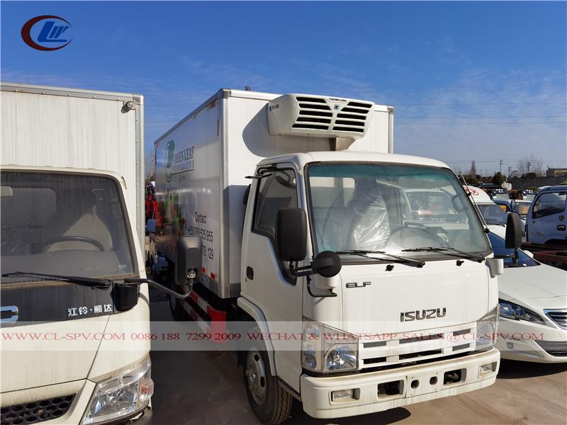 Camión furgón frigorífico isuzu 100p