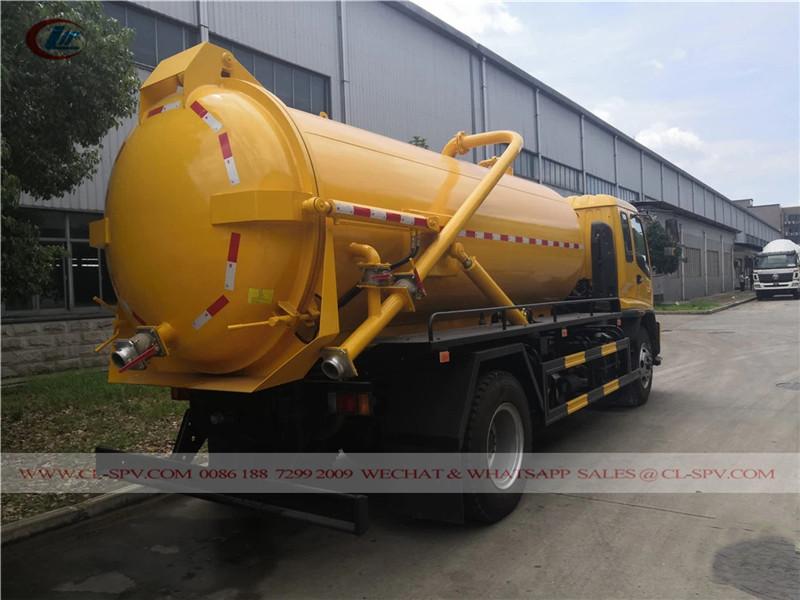 Isuzu 10000 liters vacuum truck