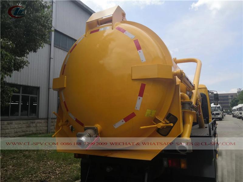 Isuzu 10000 liters sewage truck