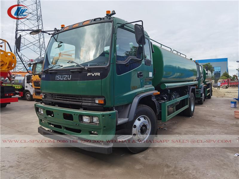 Isuzu FVR water truck - 15000 liters