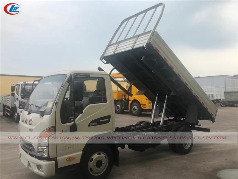 JAC cargo dump truck