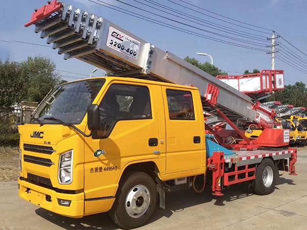 JMC Shunda aerial ladder truck