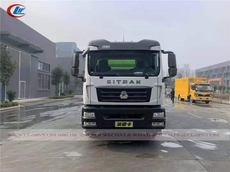 Sinotruk SITRAK road sweeper truck
