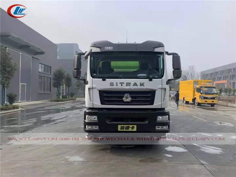 SITRAK road sweeper truck