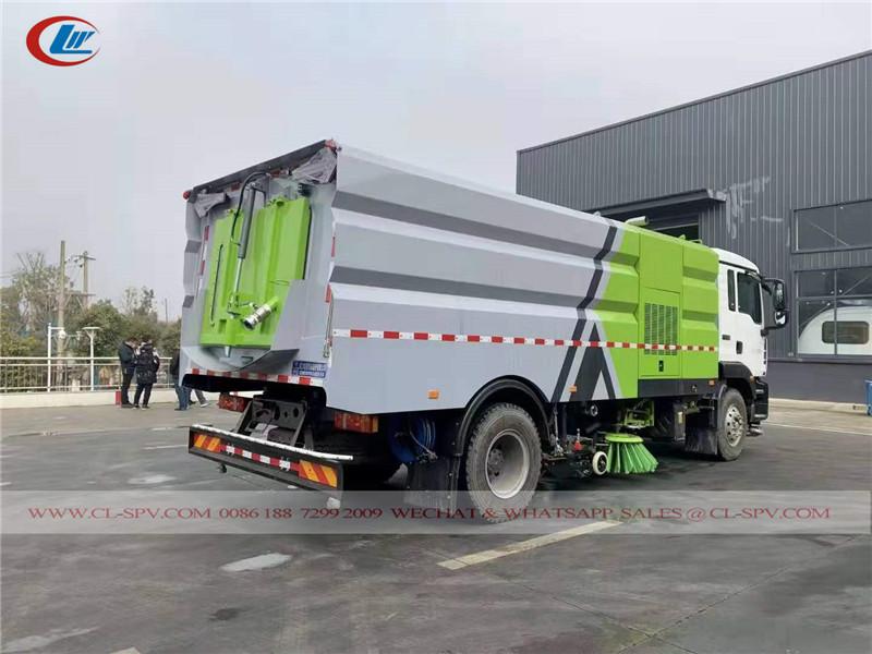 SITRAK road sweeper vehicle
