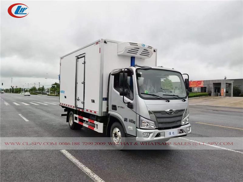 foton forland 4 میٹر فریزر وین ٹرک