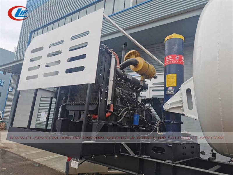 vacuum sewage trailer