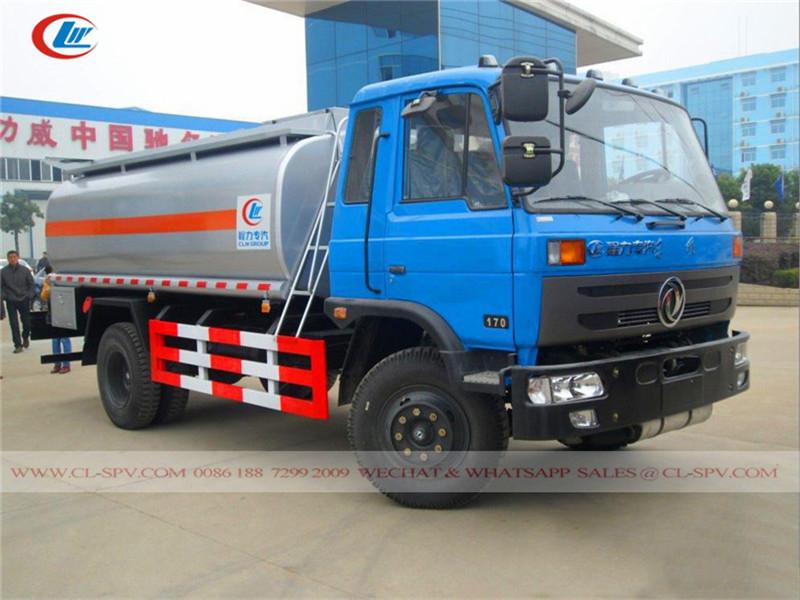 東風 1000 リットルの燃料タンクトラック