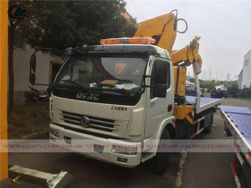 Dongfeng 4 tons wrecker