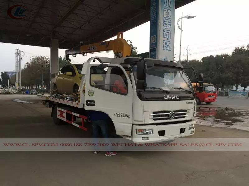 Dongfeng грузовик с краном