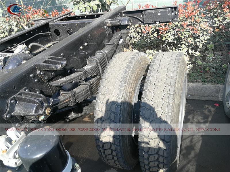 Dongfeng awd dump truck wheels