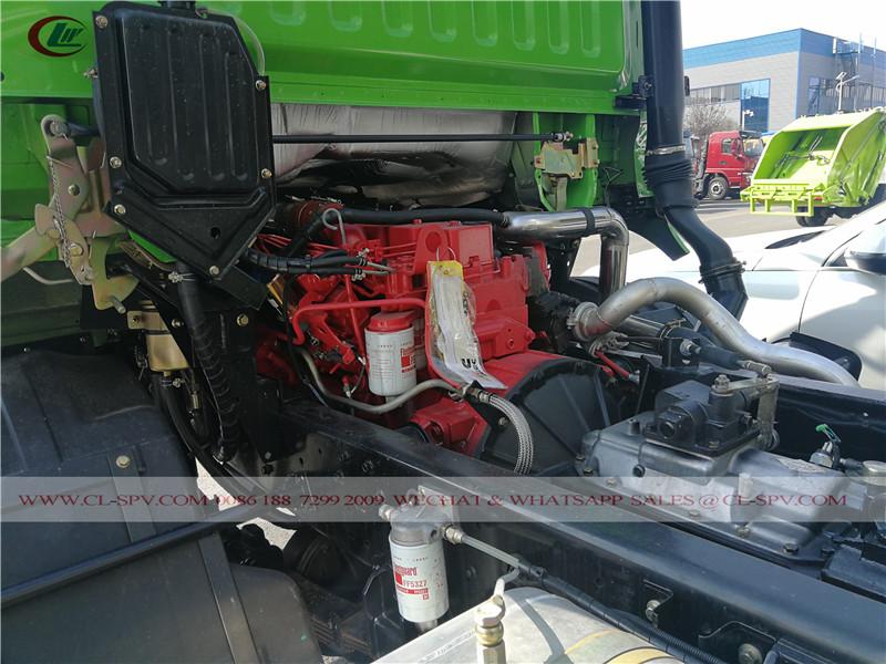 Dongfeng awd dump truck cummins engine