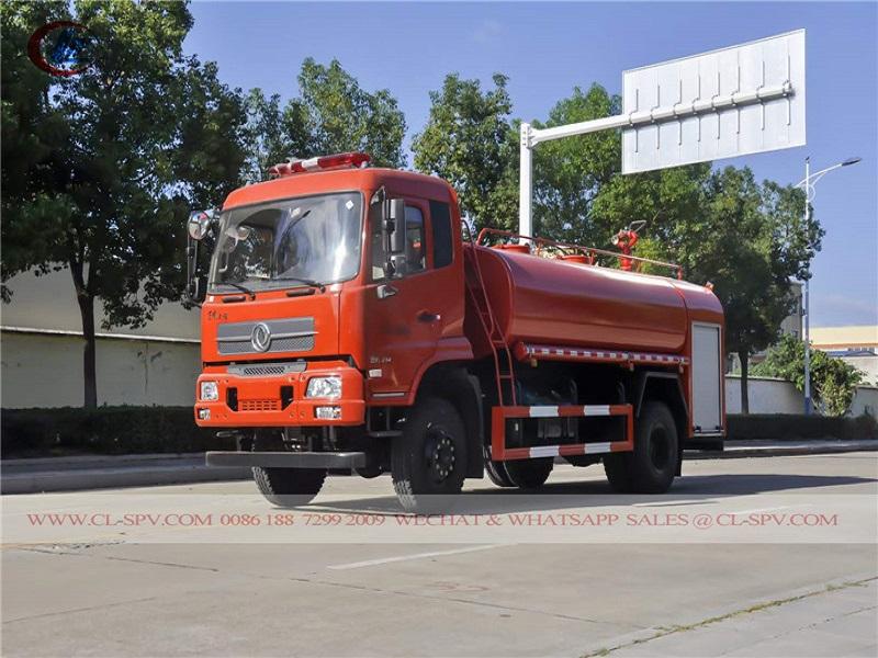 東風awd水消防トラック