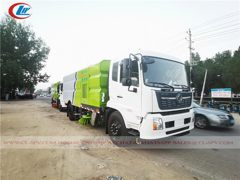 Dongfeng سڑک کا برش ٹرک