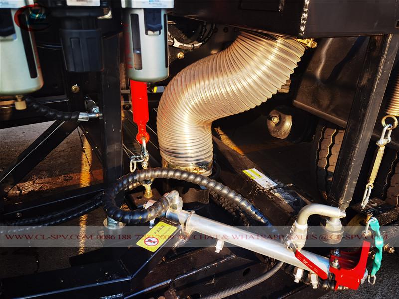 Dongfeng road sweeper vacuum motor