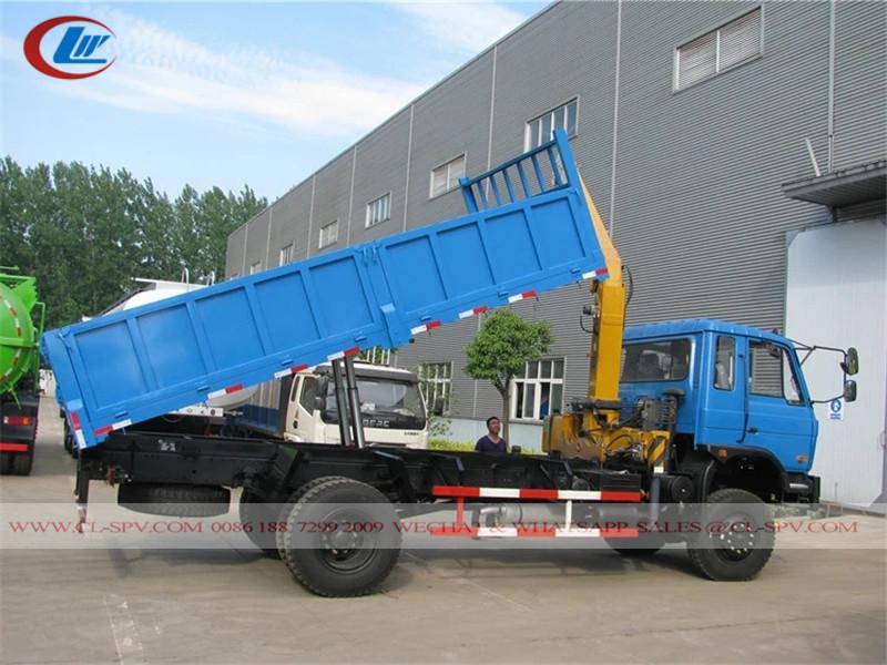 Dongfeng awd 8 toneladas camión volquete