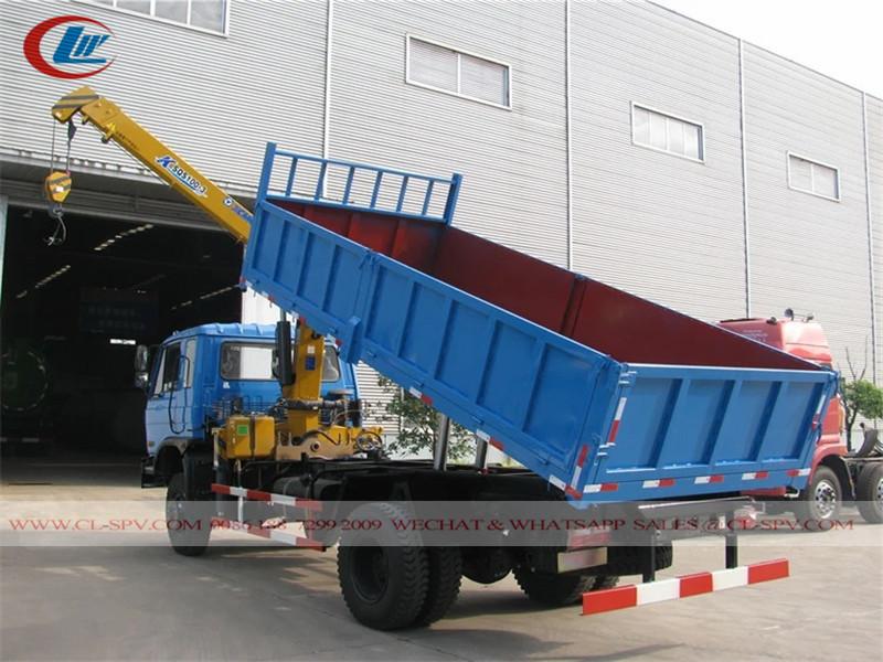 Dongfeng 4x4 8 toneladas camión volquete