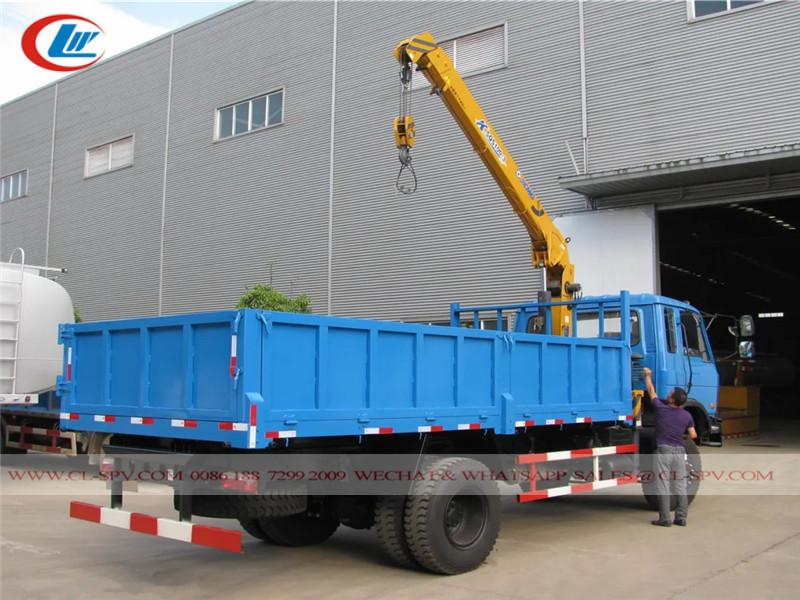 Camión volquete dongfeng awd