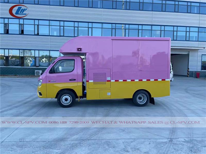 Foton M1 fast food truck