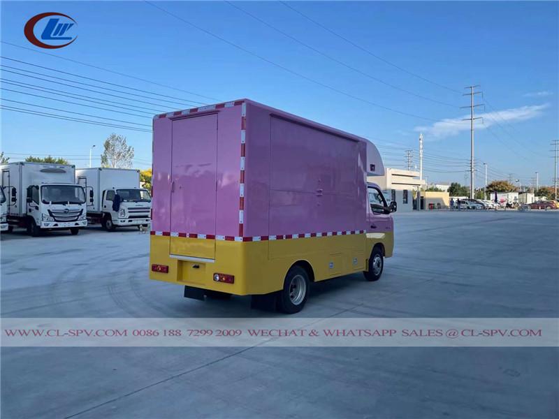 Foton mini cating truck