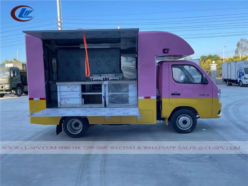 Foton mini food truck