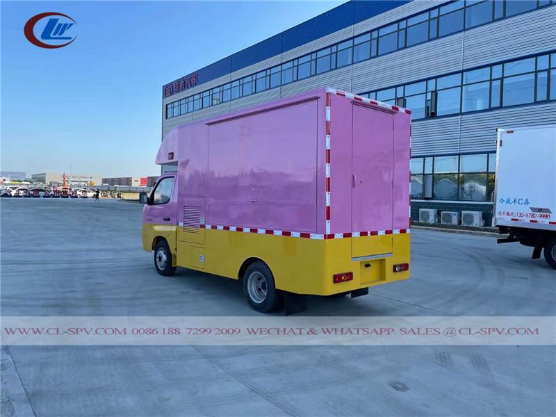 Foton fast food sales truck