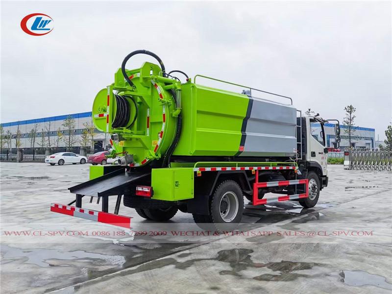 Foton Rowor high pressure jetting truck