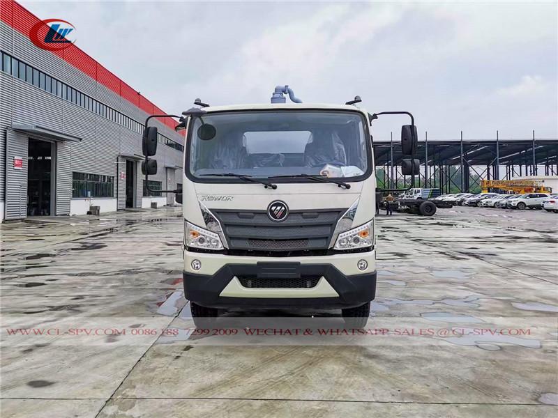 Foton Rowor vacuum sewage truck