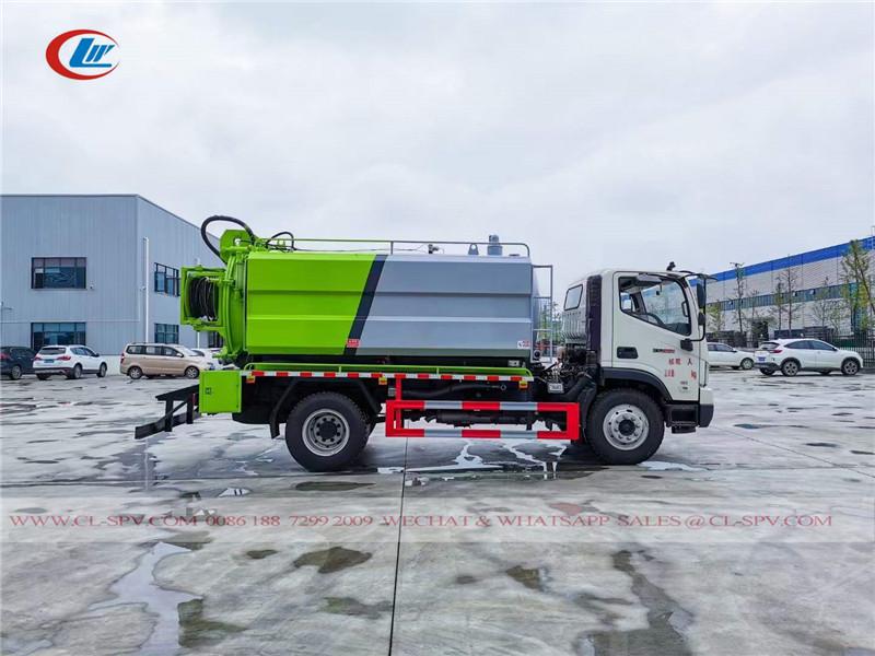 Foton vacuum sewage truck