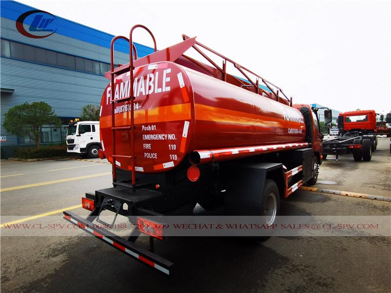Tanque de combustível Foton para a Jamaica