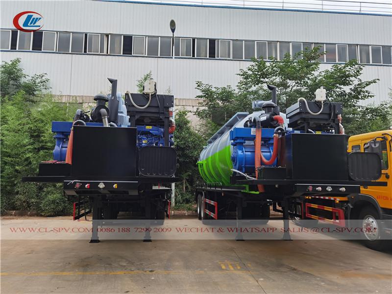 20000 l sewage tank trailer