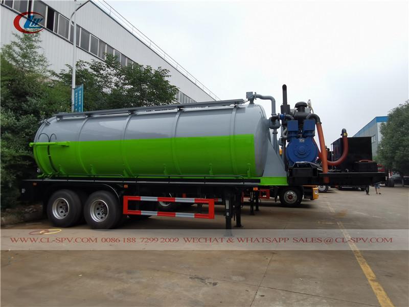 20000 l vacuum tank trailer