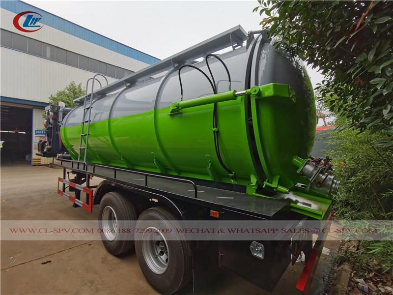 vacuum sewage tank trailer