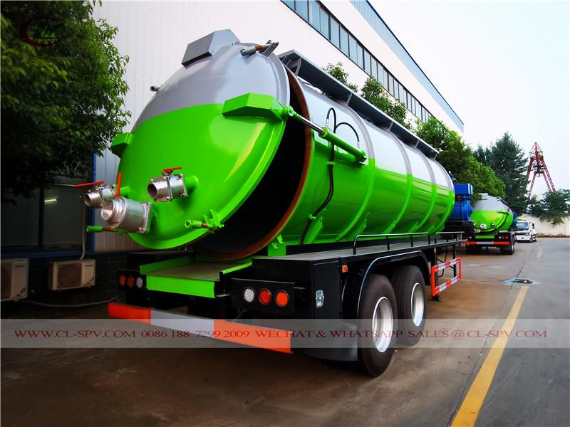 trailer mounted sewage tank