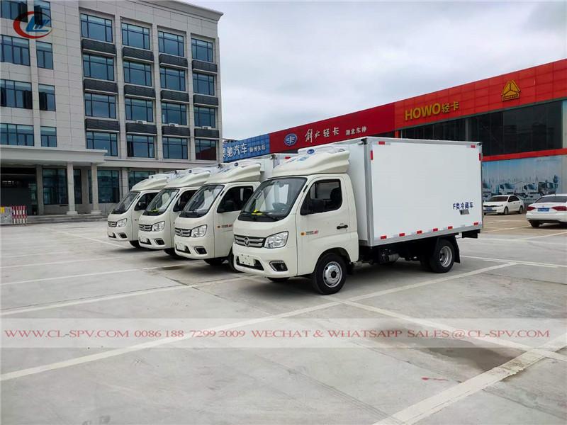 Foton M1 refrigerated truck to Uzbekistan