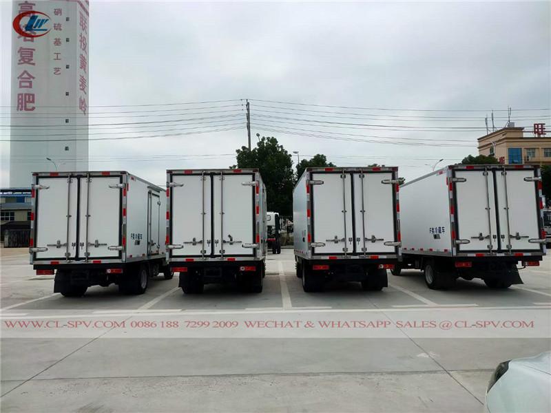 Foton freezer truck to Uzbekistan