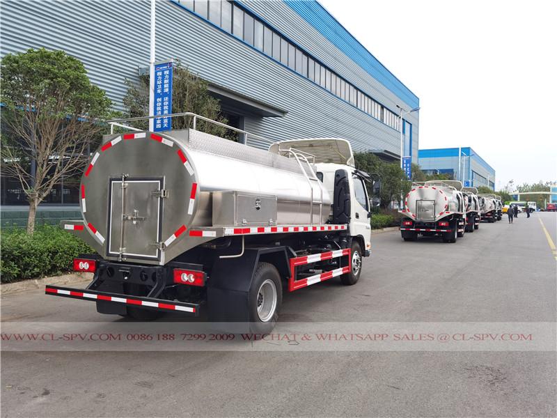 Foton camión de agua potable a Nigeria